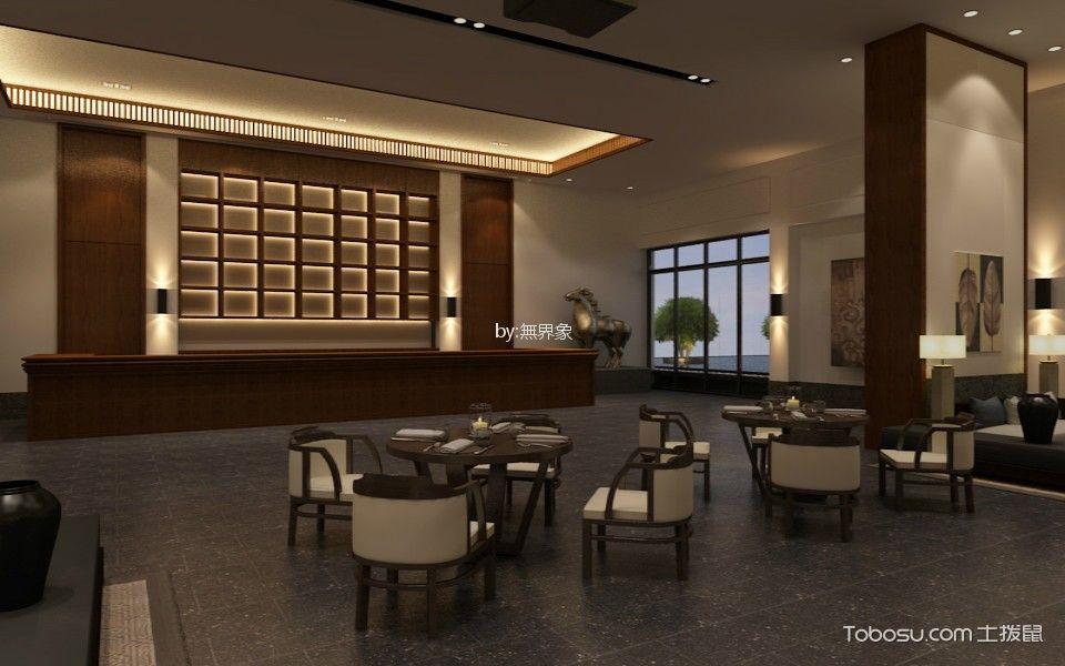 鼎龙吉兆湾房屋销售中心展厅装饰效果图