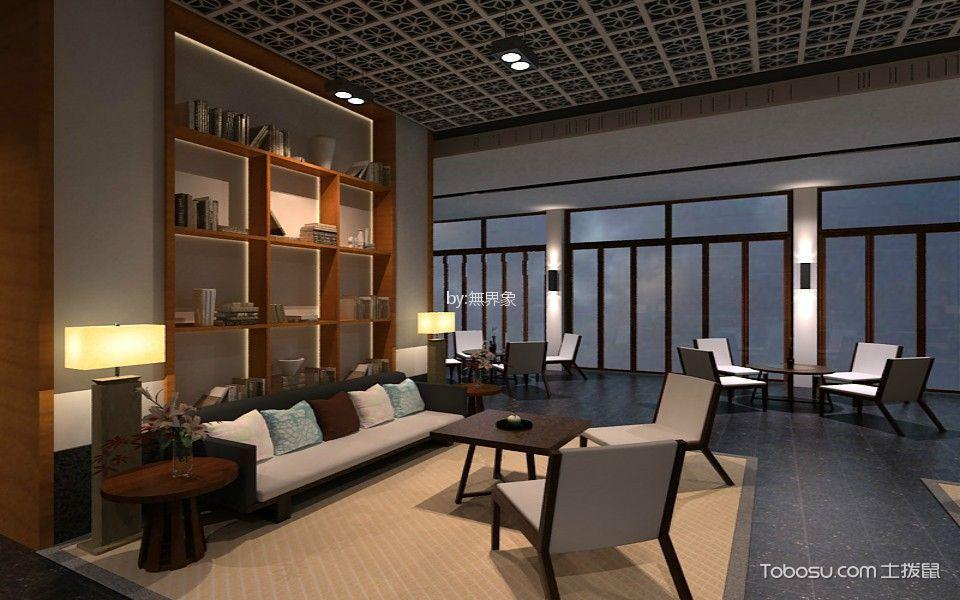 房屋销售中心沙盘区会客厅装饰图图册
