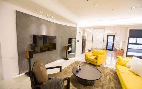 客厅简约风格装饰图片