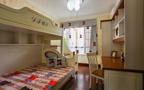 儿童房窗帘新中式风格效果图