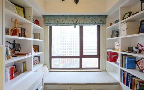 书房榻榻米美式风格装饰设计图片
