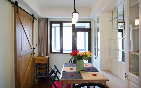 餐厅窗台美式风格装潢设计图片