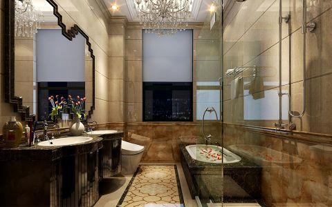 浴室浴缸欧式风格装修效果图