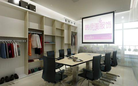 韩伊阁服饰公司办公室装修效果图