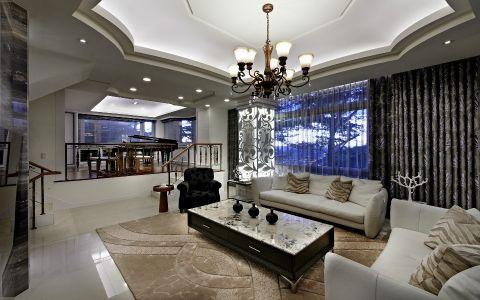 新古典风格320平米别墅新房装修效果图