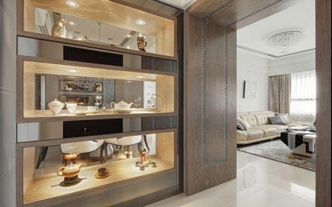 客厅白色吊顶新古典风格装潢效果图