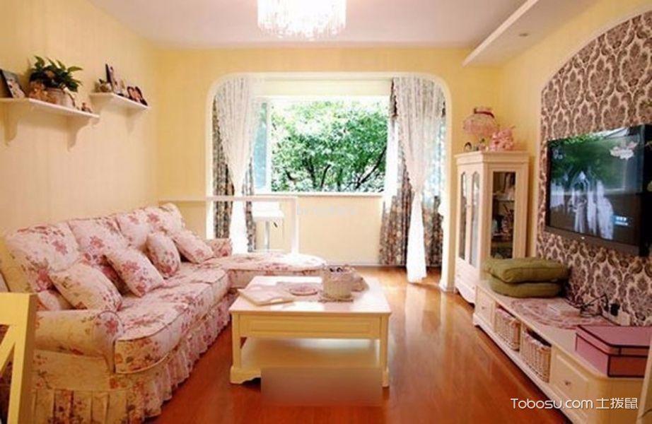 2020韩式90平米装饰设计 2020韩式二居室装修设计