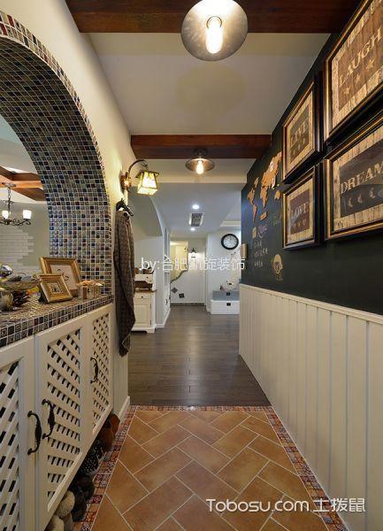 玄关黄色走廊室内装修图片
