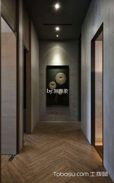 菁英荟会所走廊装饰背景图