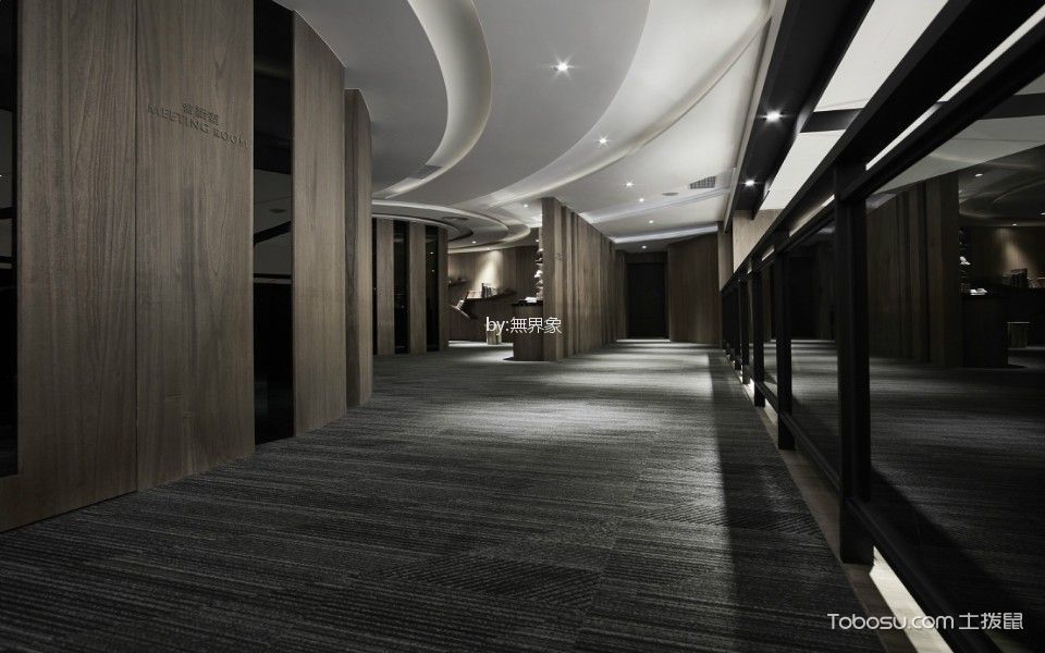 摺物 ╳ 旅程日式酒店走廊背景墙装修图片