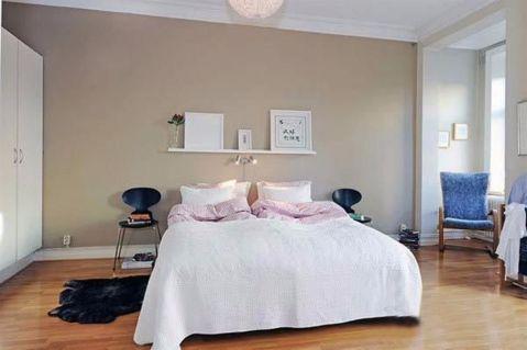 卧室背景墙韩式风格装饰设计图片