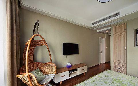 卧室电视柜现代风格装潢设计图片