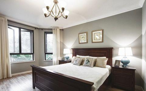 卧室床美式风格效果图