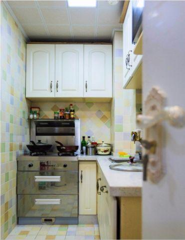 厨房吊顶田园风格效果图