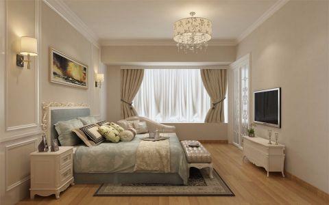 卧室电视柜简欧风格装修设计图片