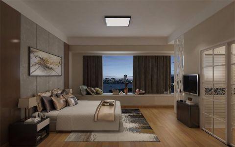 卧室飘窗简欧风格装潢设计图片