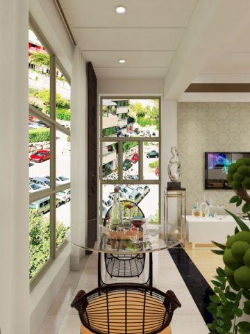 阳台吊顶现代风格装饰设计图片