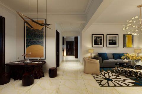 客厅灰色现代风格装饰设计图片