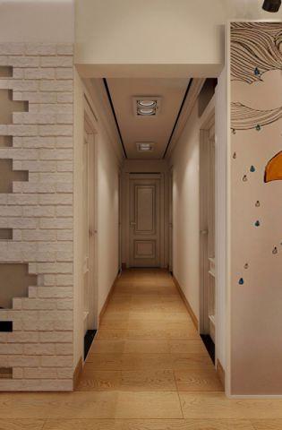 玄关白色吊顶现代简约风格装潢效果图