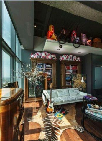 客厅白色沙发欧式风格装修效果图