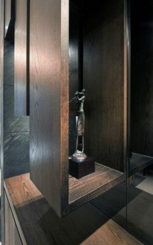 2018古典客厅装修设计 2018古典博古架装修设计图片