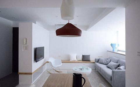 金地艺境80平两居室简约风格装修效果图