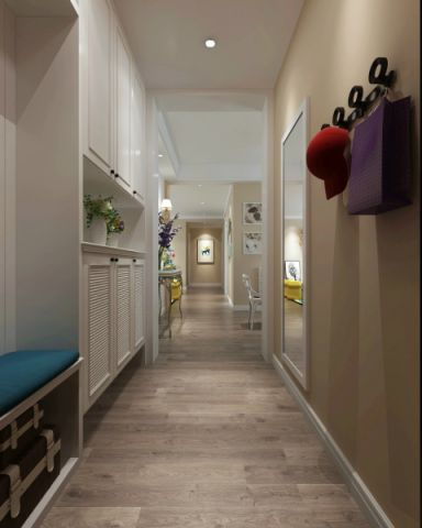 玄关走廊简约风格效果图