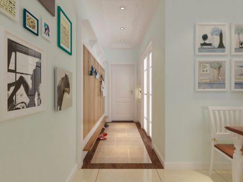 玄关走廊美式装潢图