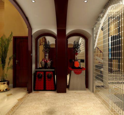 玄关走廊混搭风格装潢设计图片