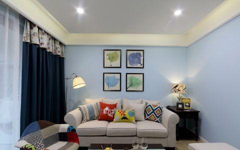 美式风格100平米公寓新房装修效果图