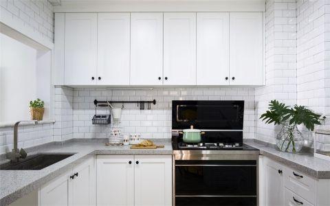 2019北欧厨房装修图 2019北欧橱柜装修效果图片