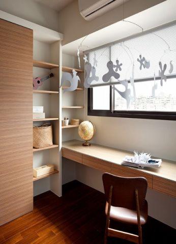雅致现代白色窗帘装潢设计图片