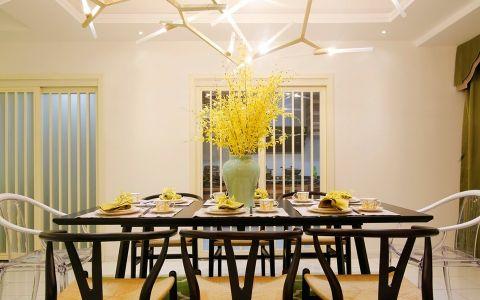 混搭餐厅餐桌设计图片