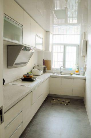 三角花园王家湾小区110平三室现代简约效果图