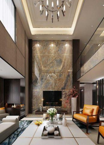 180平米美式风格四居室装修效果图