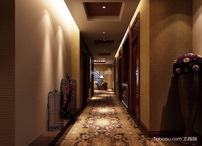 美雅肤美容院走廊过道装潢图