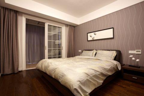 卧室推拉门简约风格装潢图片