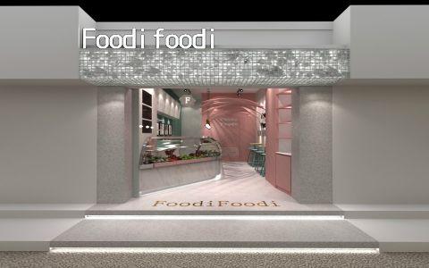 FoodiFoodi甘草水果店装修效果图