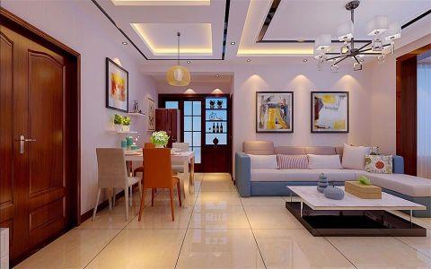 105平三室一厅一卫现代简约装修效果图