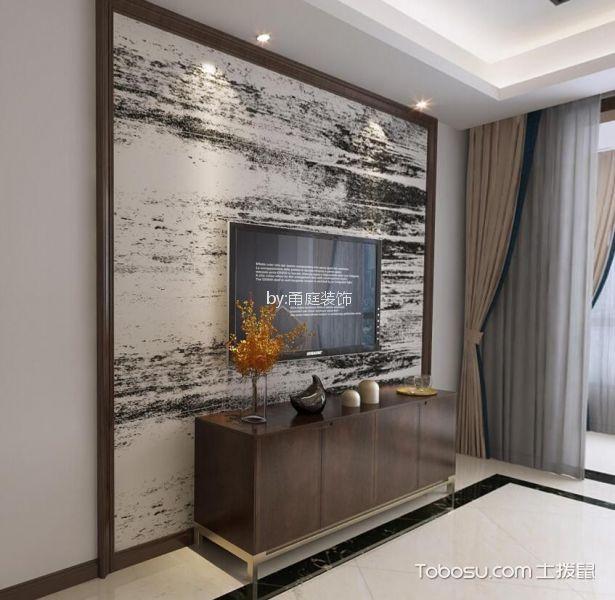 宁波风景御园110平米现代风格效果图