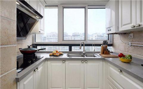 厨房窗台简欧风格效果图