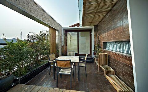 花园背景墙现代简约风格装饰效果图
