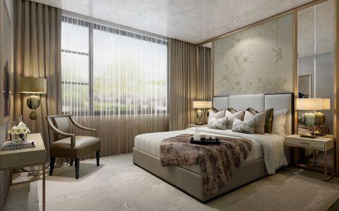 卧室飘窗混搭风格效果图