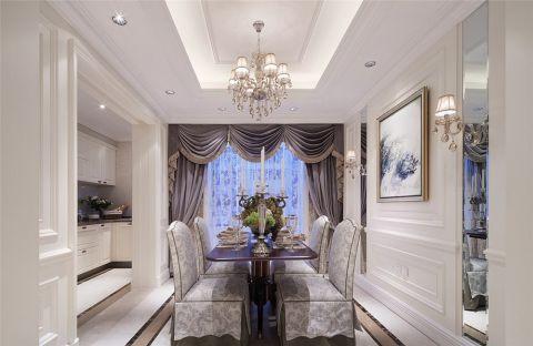 欧式风格112平米套房室内装修效果图