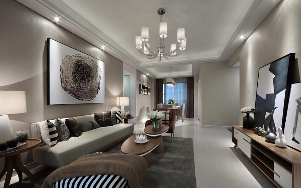 3室2卫1厅120平米欧式风格