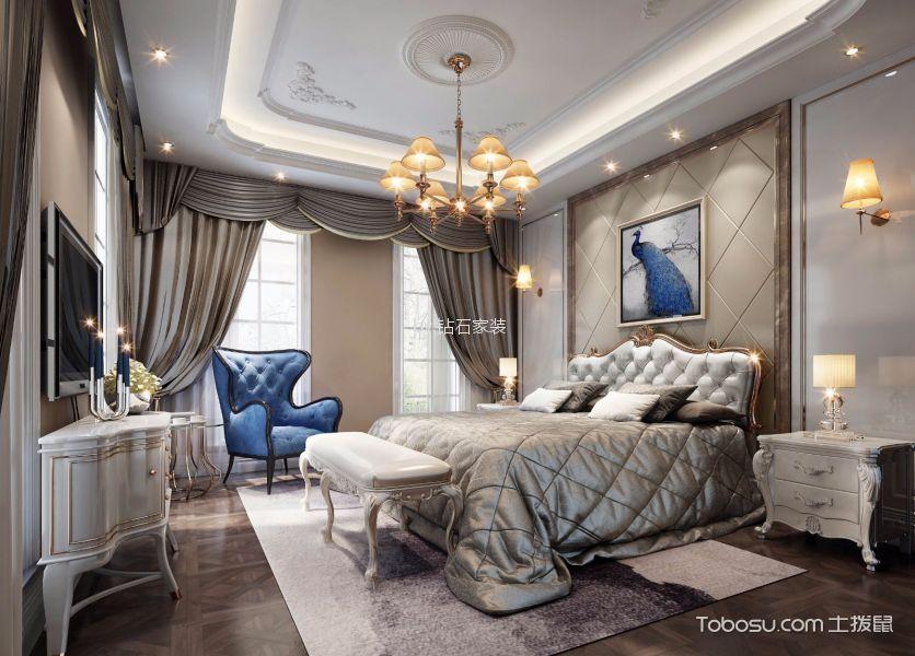卧室白色电视柜欧式风格效果图