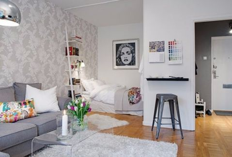 御华府90平韩式风格二居室装修效果图