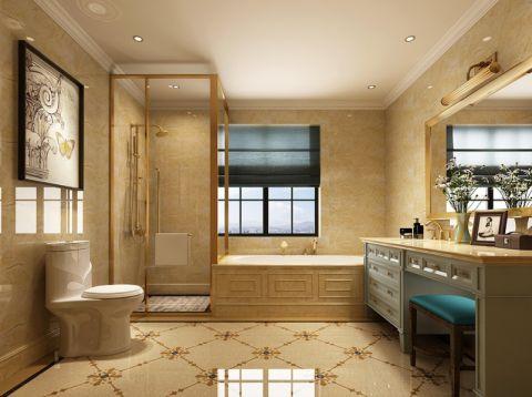 自然浴室装修设计图片