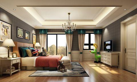 温馨白色卧室装饰实景图
