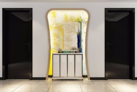 玄关地砖现代装饰设计图片